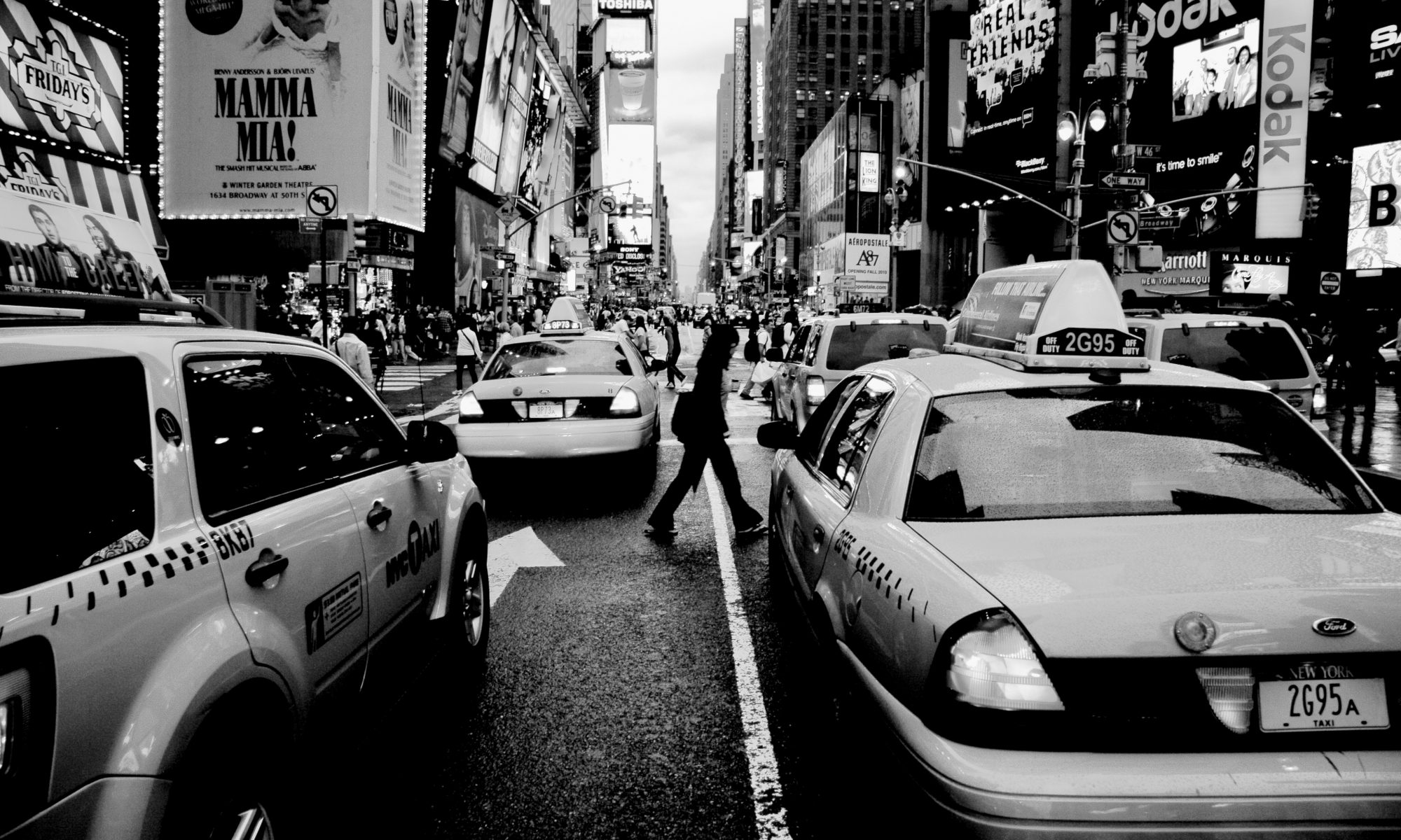 Cabs near times square